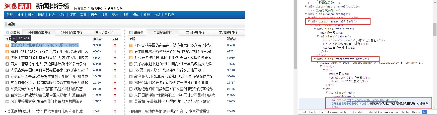 通过开发者调试工具分析网页源代码